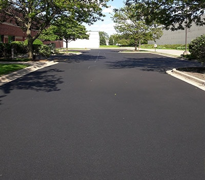 parking lot commercial sealcoating lines