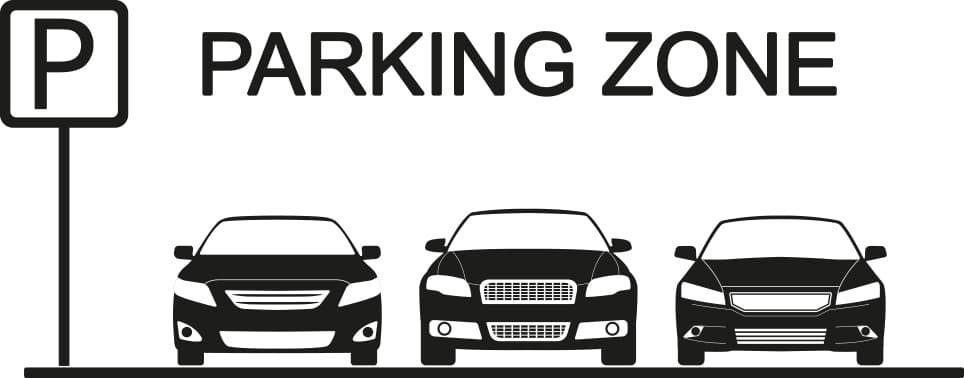 parking lot zone
